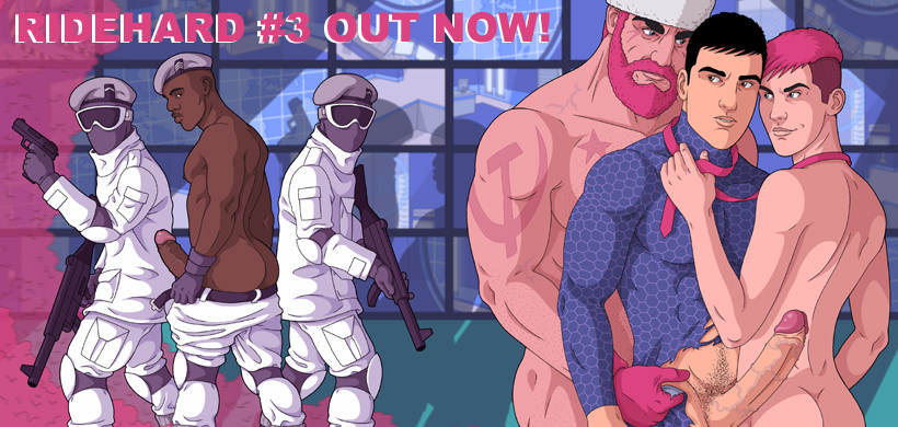 COMIC BOOK: Ridehard #3 Available Now