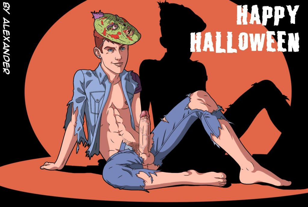 Hallowen Twink Hard